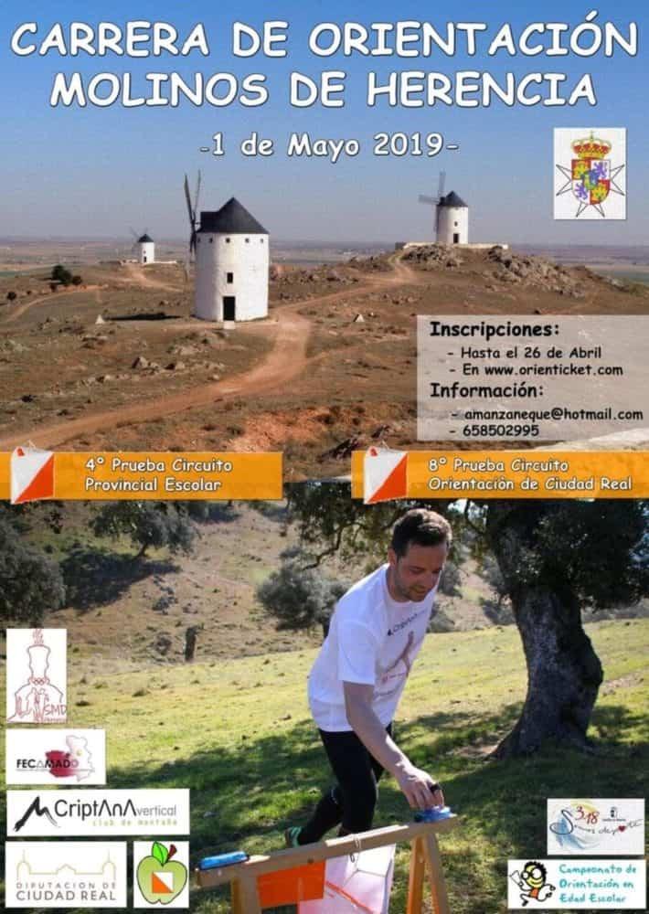 Carrera de Orientación Molinos de Herencia el 1 de mayo