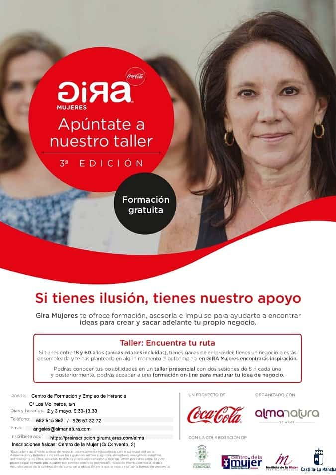 cartel gira mujeres herencia - El Proyecto Gira Mujeres llega a Herencia