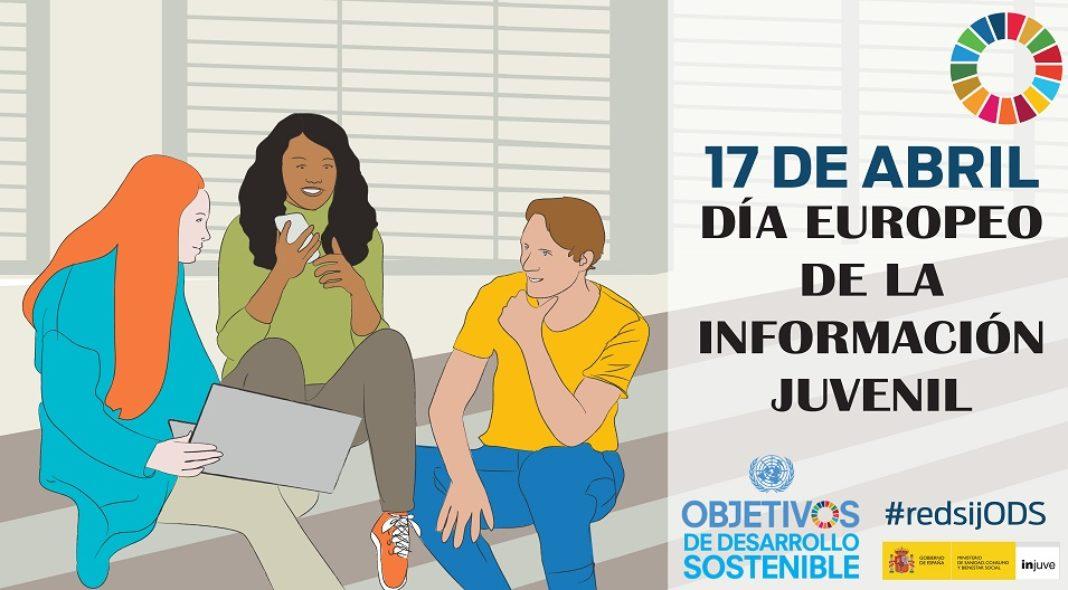 carteldiainformacionjuvenil2019 1068x590 - El Centro Joven celebrará el Día Europeo de la Información Juvenil