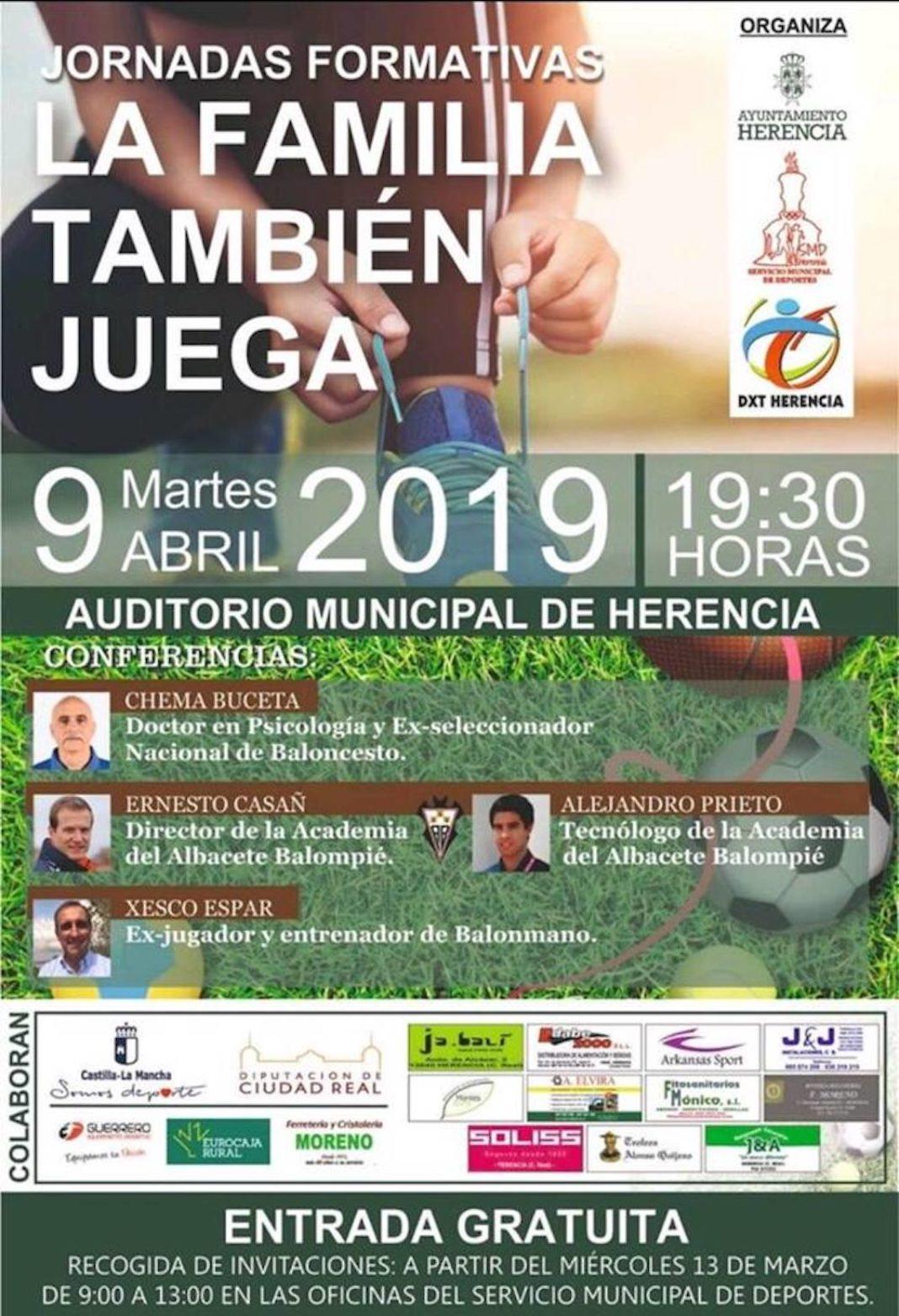 """jornadas formativas la familia tambien juega 1068x1562 - Jornadas formativas """"La familia también juega"""""""