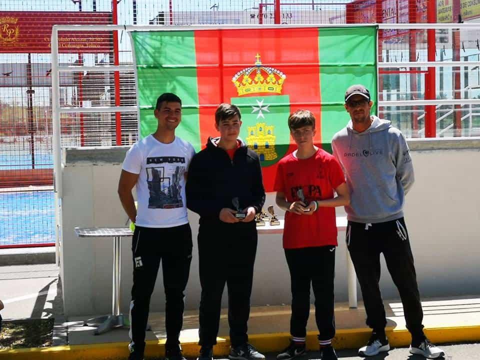 padel convivencia consuegra 1 - Las Escuela Deportivas de Padel en una convivencia en Consuegra