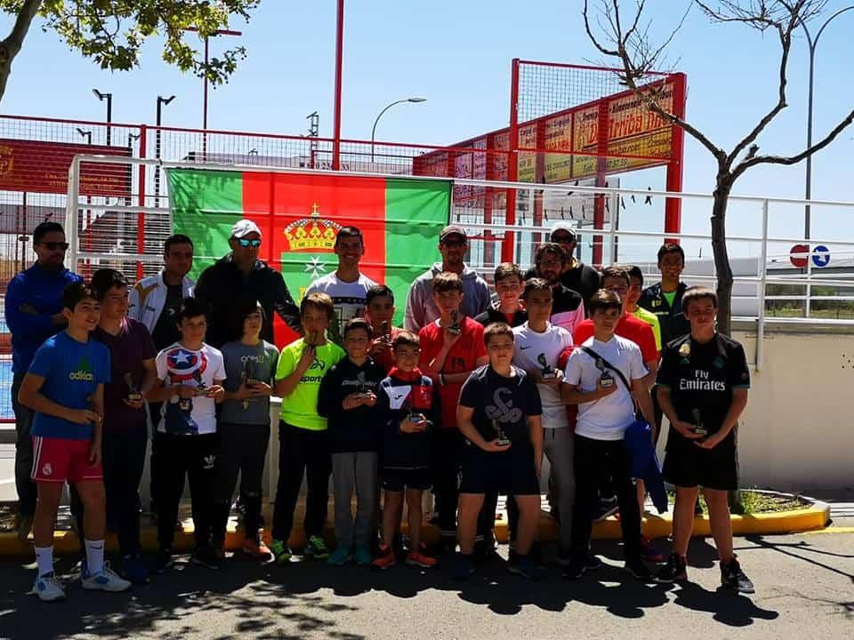 Las Escuela Deportivas de Padel en una convivencia en Consuegra 8