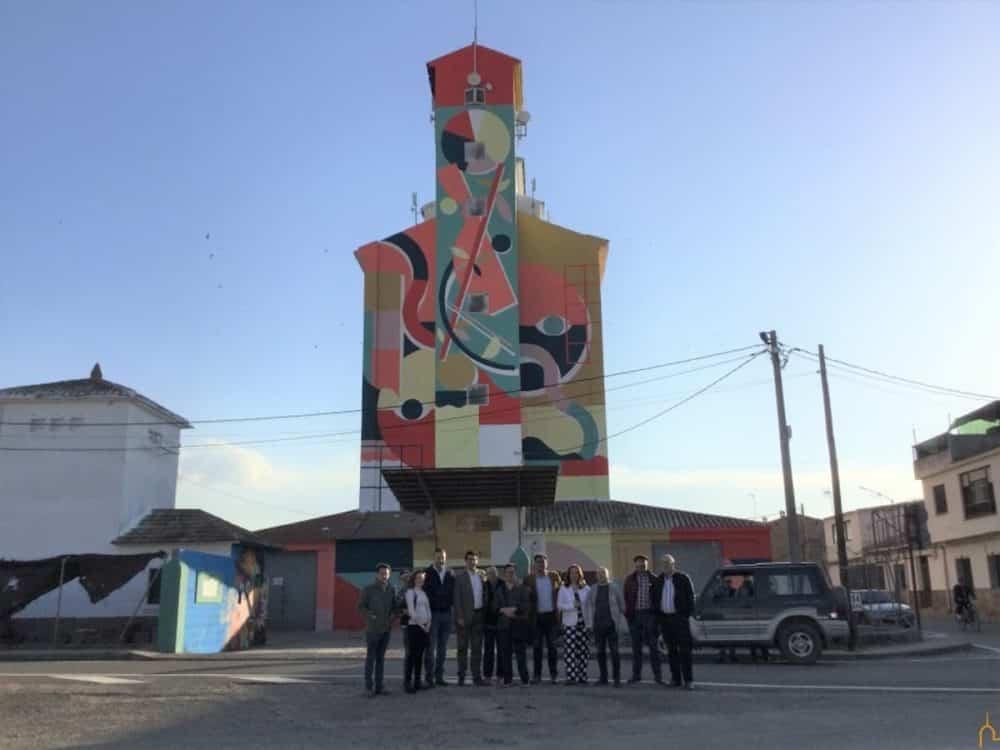proyecto titanes 1 1000x750 - Herencia recupera los silos e implica a personas con capacidades diferentes en un proyecto de arte mural sin precedentes