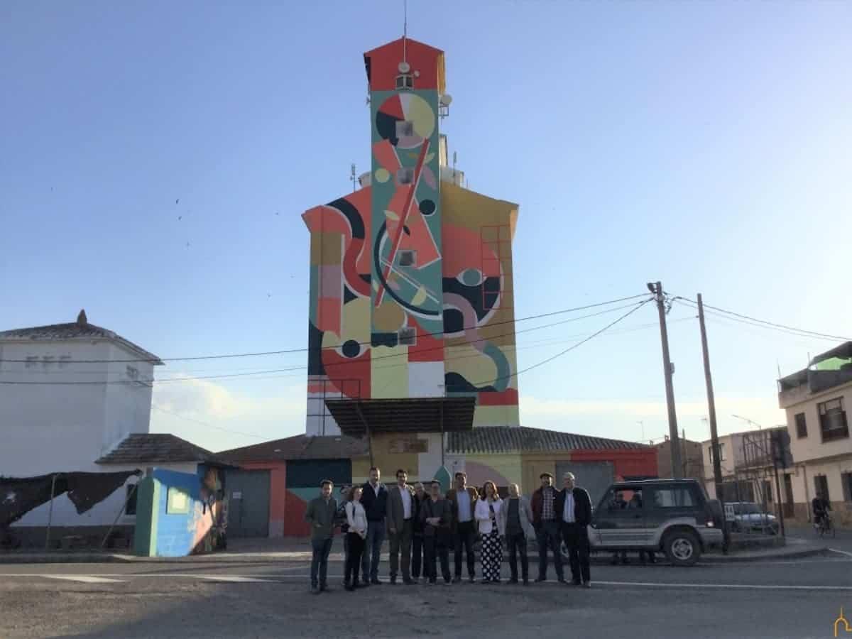 proyecto titanes 1 - El mayor museo de arte al aire libre del mundo está en La Mancha, según The Guardian.