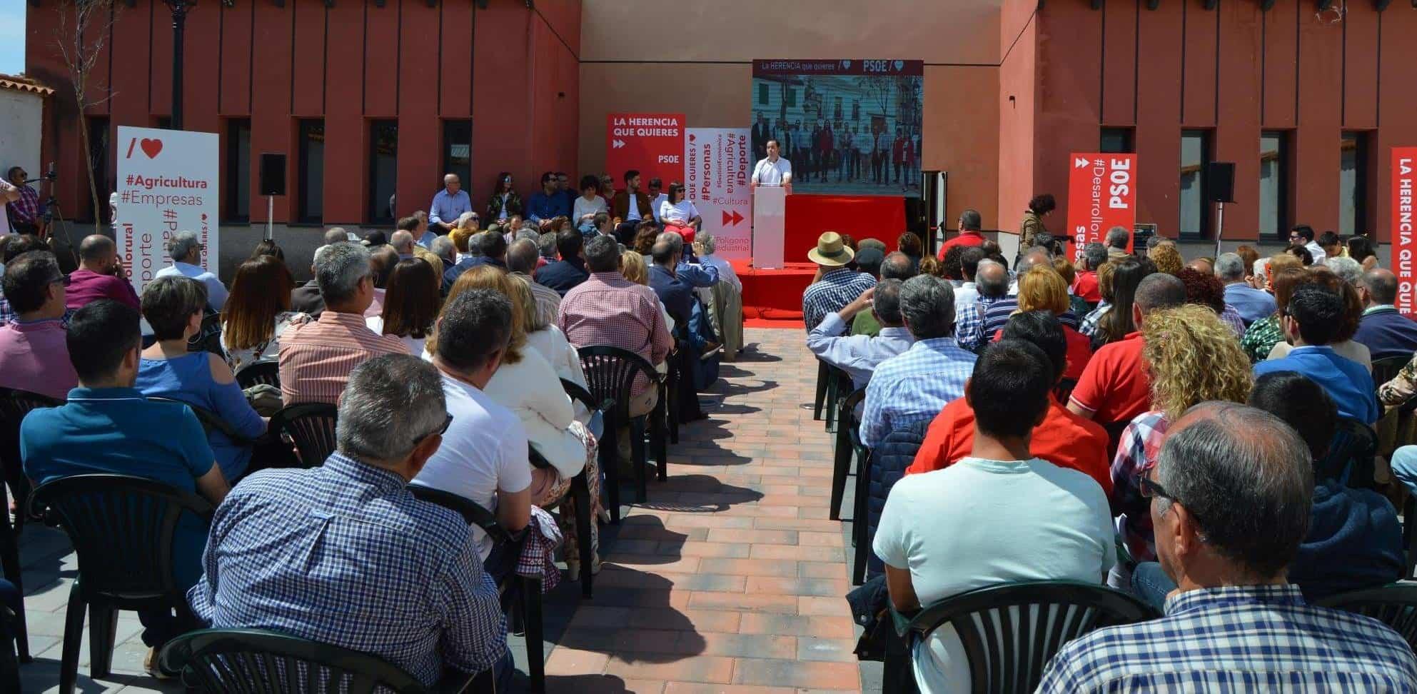 CANDIDATURA HERENCIA 2 - El PSOE de Herencia adelanta algunas de las propuestas de su programa electoral