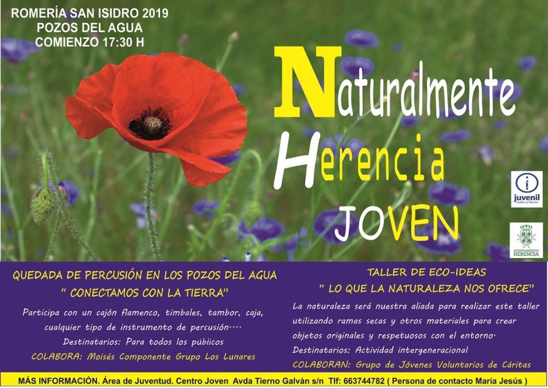 CARTEL ACTIVIDADES ROMERIA 11 1068x755 - Juventud prepara diferentes actividades y talleres para la romería de San Isidro