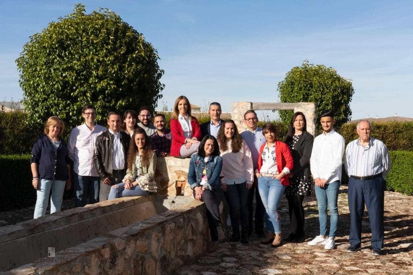 Candidatura partido popular herencia 2019 - Partido Popular Herencia presenta a su equipo para las elecciones municipales