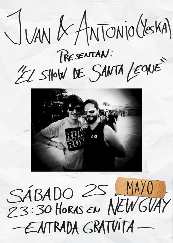 El show de Santa Leone 1068x1501 - Juan y Antonio (Yeska) presentan el show de Santa Leone