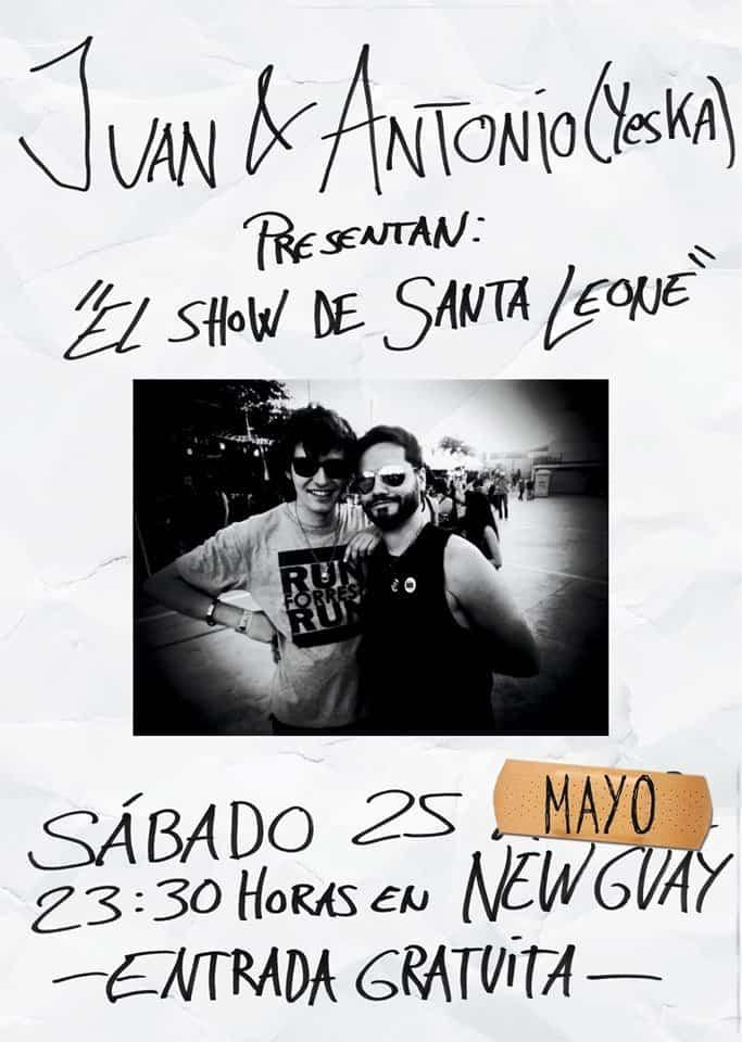 Juan y Antonio (Yeska) presentan el show de Santa Leone 3