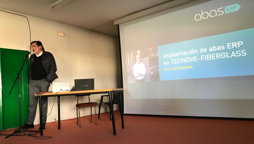 Francisco Javier Fernández Director Gerente de TECNOVE Fiberglass - Tecnove Fiberglass implanta Abas ERP