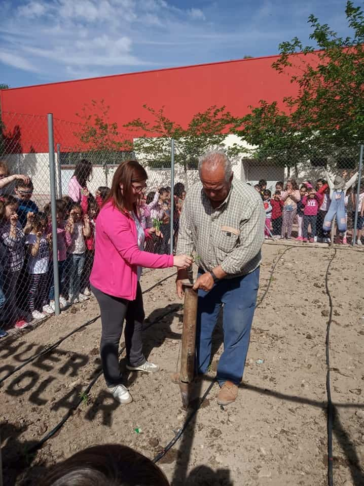 Huerto Escolar CEIP Carrasco Alcalde1 - EL CEIP Carrasco Alcalde vuelve a poner en marcha su huerto escolar