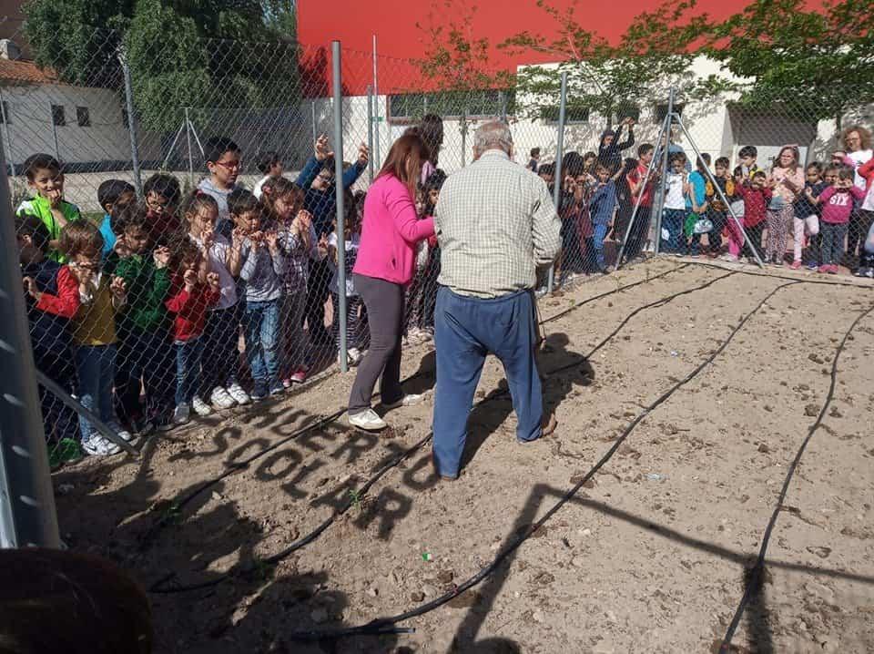 Huerto Escolar CEIP Carrasco Alcalde2 - EL CEIP Carrasco Alcalde vuelve a poner en marcha su huerto escolar