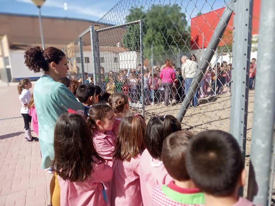 Huerto Escolar CEIP Carrasco Alcalde3 - EL CEIP Carrasco Alcalde vuelve a poner en marcha su huerto escolar