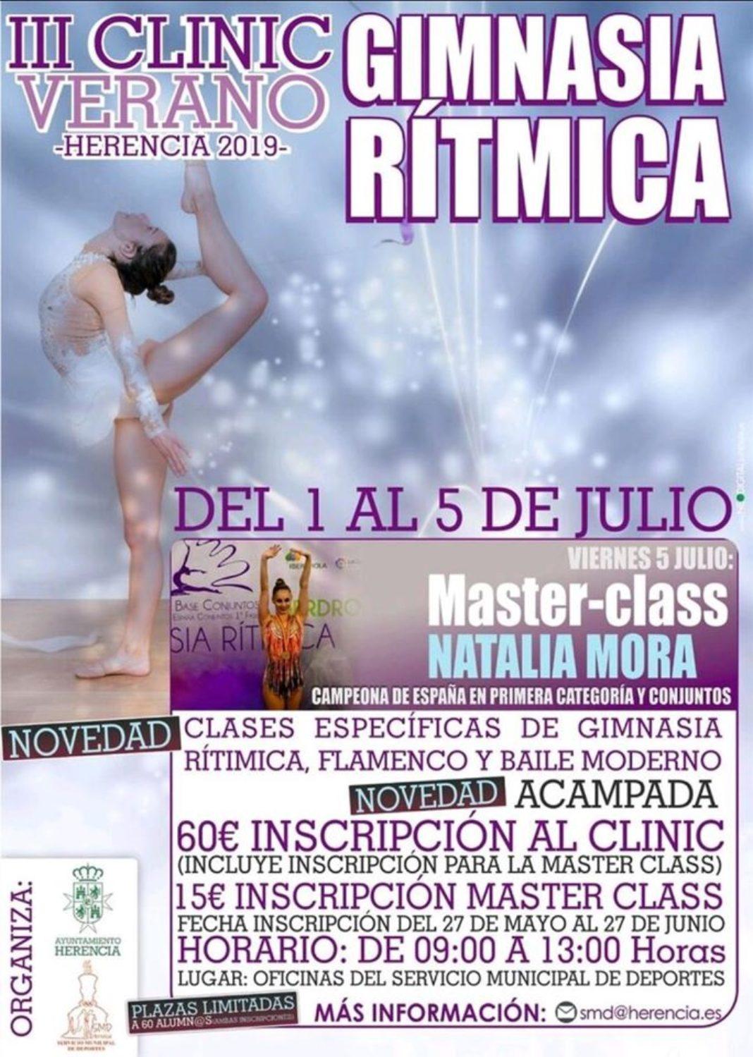 III Clinic de Verano de Gimnasia Rítmica 1068x1499 - Abiertas las inscripciones para el III Clinic de Verano de Gimnasia Rítmica