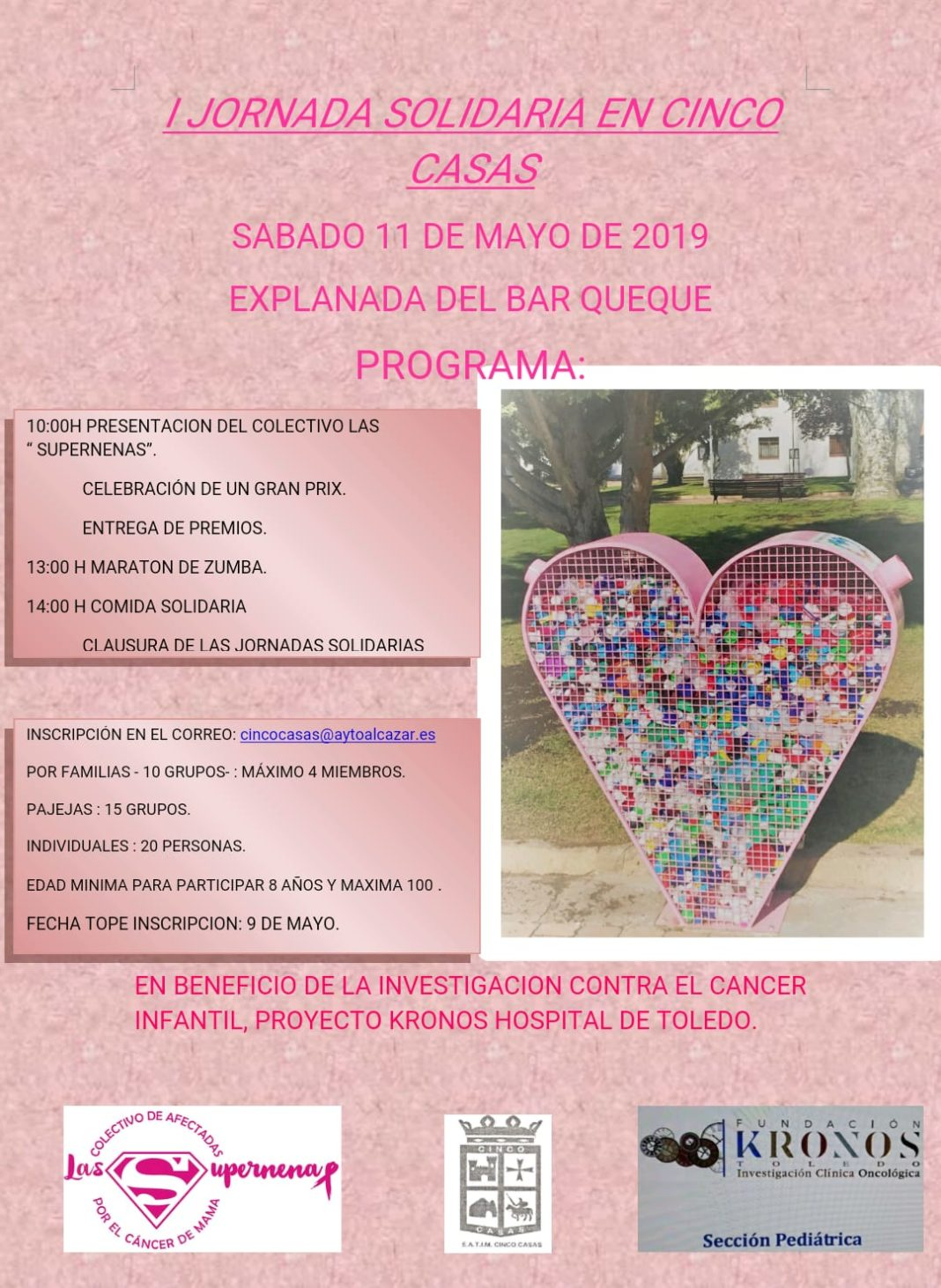 Las Supernenas en la I JOrnada Solidaria de Cinco Casas 1068x1462 - Las Supernenas organizan sus primeras jornadas solidarias en Cinco Casas