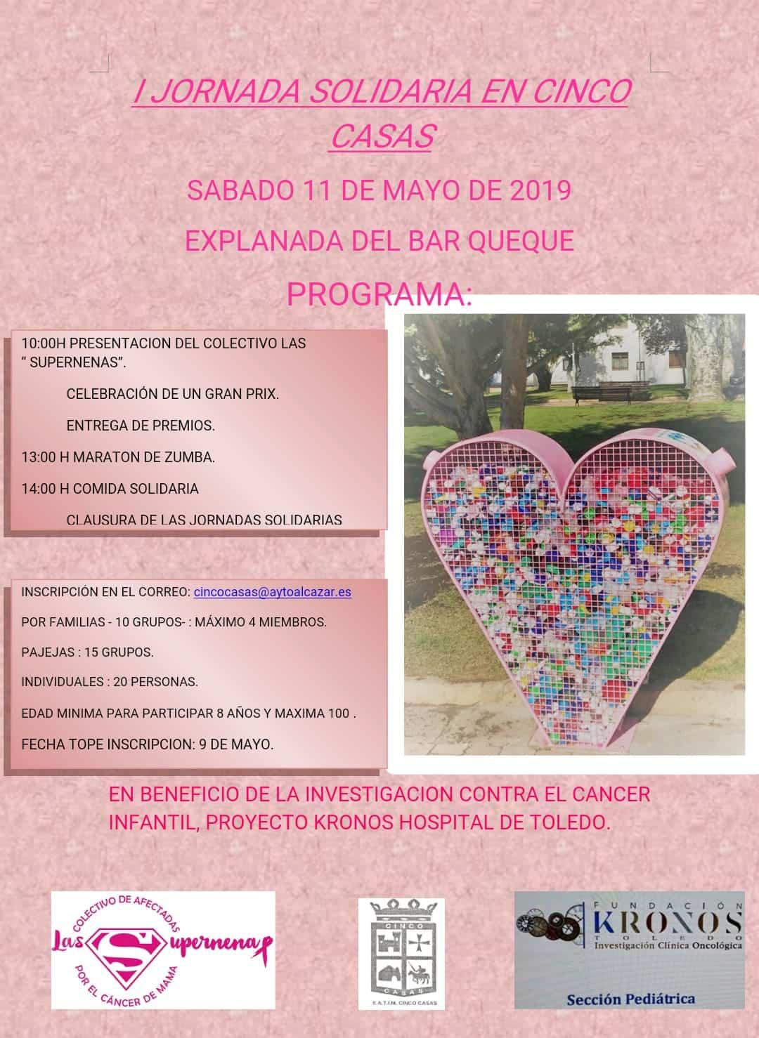 Las Supernenas en la I JOrnada Solidaria de Cinco Casas - Las Supernenas organizan sus primeras jornadas solidarias en Cinco Casas