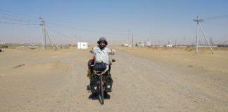 Perlé atravesando el desierto del Gobi hasta Ulan Bator