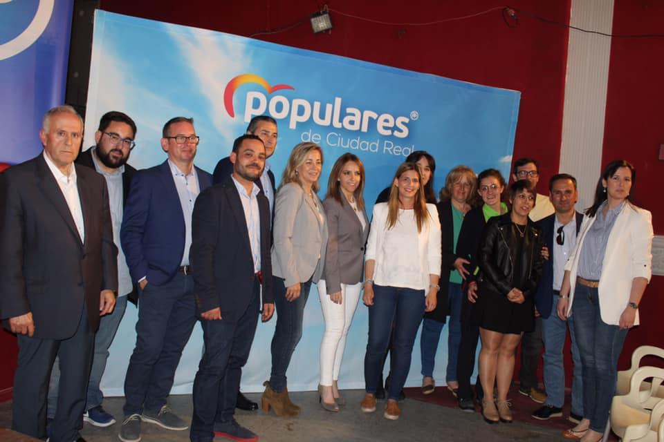 Presentación candidatura Partido Popular Herencia - Agudo presenta a Cristina Rodríguez de Tembleque como candidata a la Alcaldía de Herencia