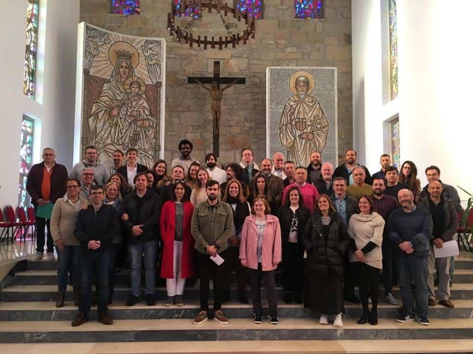 Profesores del colegio Seminario Menor de Herencia participan en un encuentro ce colegios mercedarios en Galicia - Profesores del colegio Seminario Menor de Herencia participan en un encuentro ce colegios mercedarios en Galicia