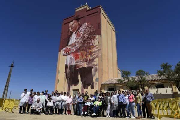 """Herencia se suma al proyecto """"Titanes"""", referencia de arte urbano e integración en el mundo 9"""