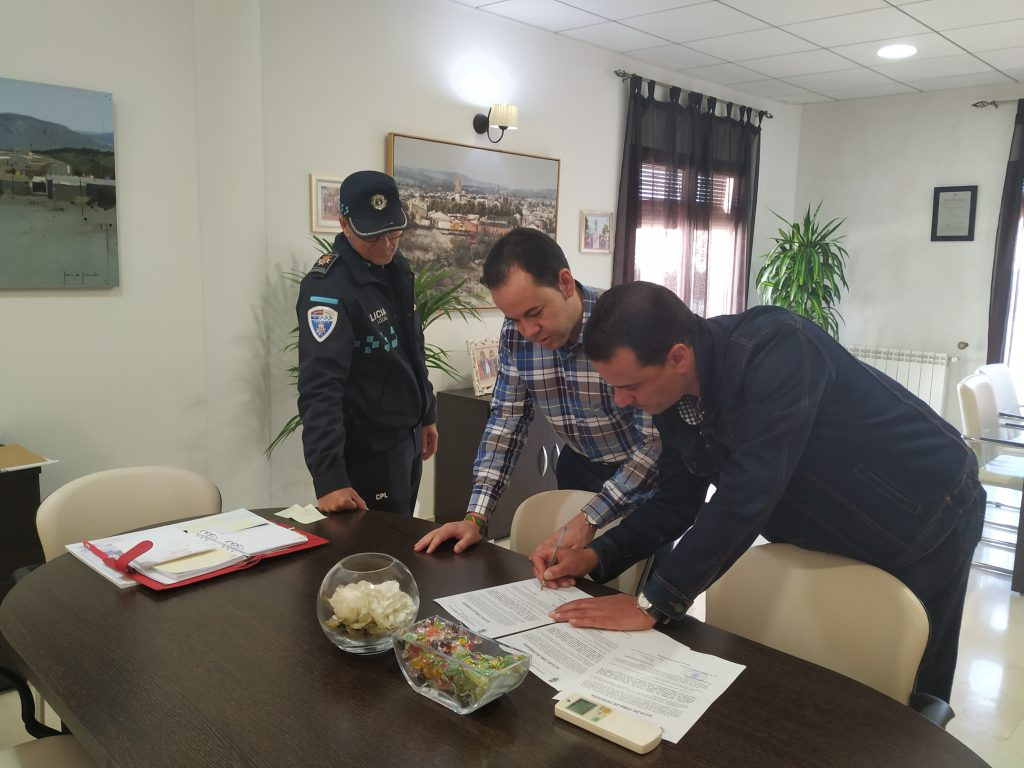 Herencia cuenta con un nuevo policía para completar una plantilla de 15 personas 6