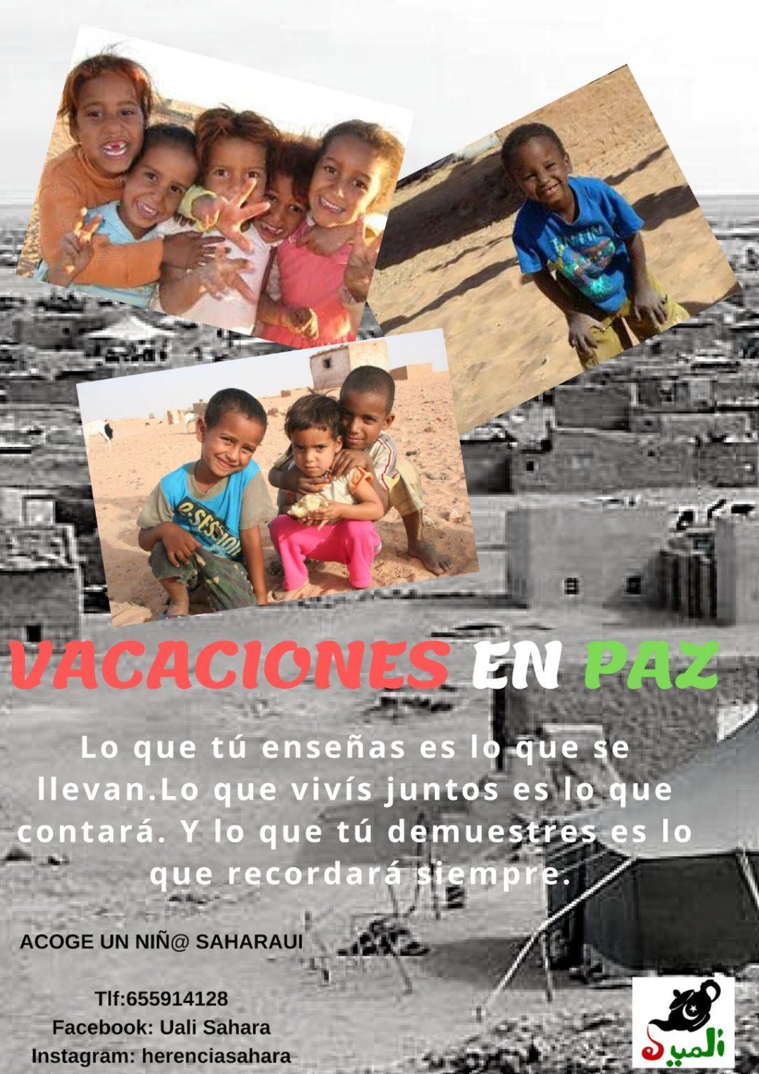 """La asociación """"El Uali"""" informa sobre el programa Vacaciones en Paz 2019 4"""
