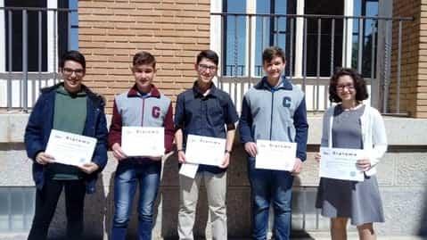 """Varios herencianos premiados en el concurso """"Amigos del Seminario"""" 13"""
