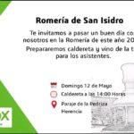 Vox Herencia junto a Ricardo Chamorro participan en la romería de San Isidro 4