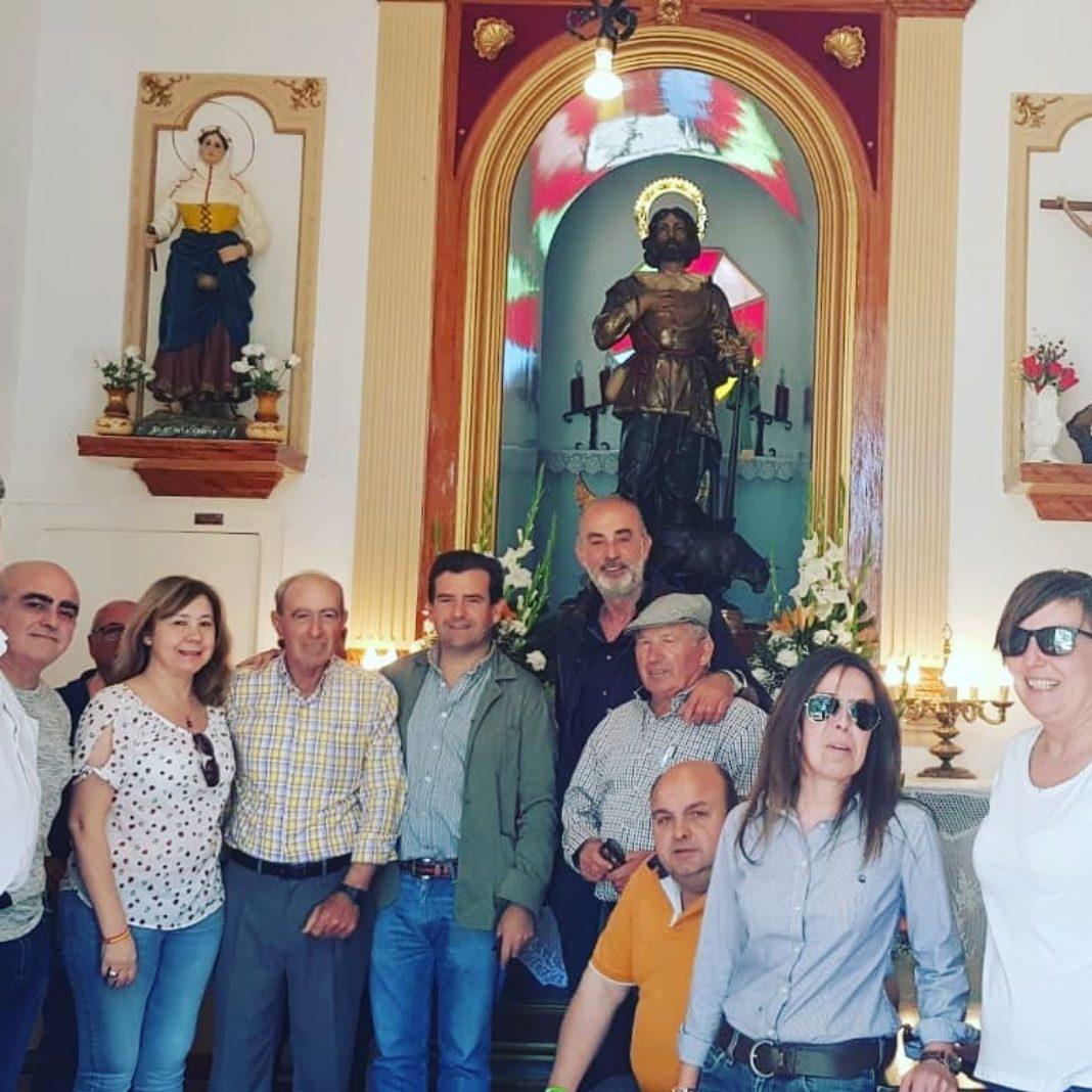 Vox herencia en la Romería de San Isidro1 1068x1068 - Vox Herencia junto a Ricardo Chamorro participan en la romería de San Isidro