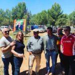 Vox Herencia junto a Ricardo Chamorro participan en la romería de San Isidro 8