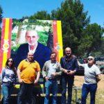 Vox Herencia junto a Ricardo Chamorro participan en la romería de San Isidro 11