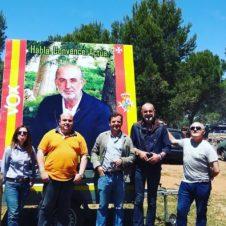 Vox herencia en la Romer%C3%ADa de San Isidro3 226x226 - Vox Herencia junto a Ricardo Chamorro participan en la romería de San Isidro