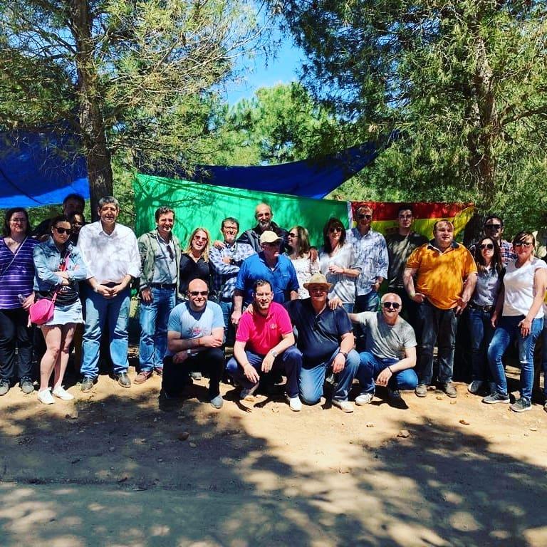 Vox herencia en la Romería de San Isidro8 - Vox Herencia junto a Ricardo Chamorro participan en la romería de San Isidro