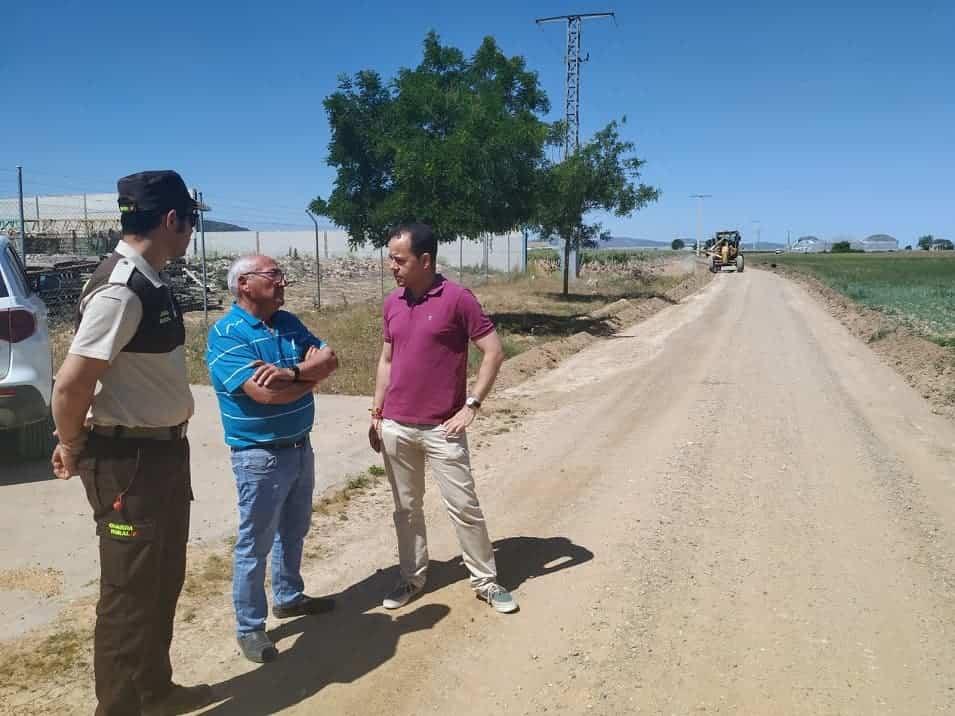 Más de 90.000 euros para el arreglos de caminos en Herencia 7