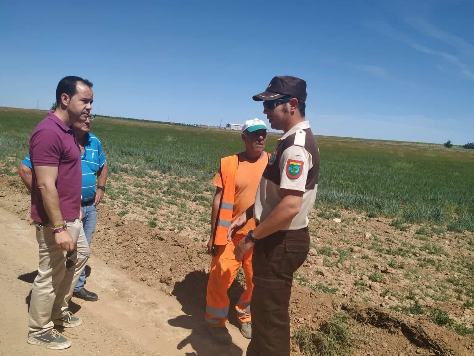 Más de 90.000 euros para el arreglos de caminos en Herencia 9