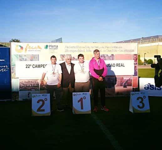 El club deportivo Asodisal obtiene varias medallas el el Campeonato Regional de Atletismo de FECAM 6