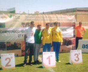 campeonato atletismo asodisal2 293x238 - El club deportivo Asodisal obtiene varias medallas el el Campeonato Regional de Atletismo de FECAM