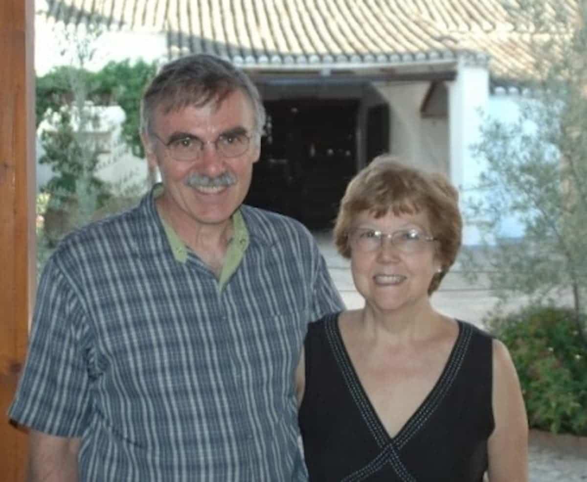davydd y pilar1 - Pilar Fdez-Cañada y Davidd J. invitados a los almuerzos de la Sociedad Cervantina de Alcázar