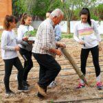 El huerto del I.E.S. Hermógenes Rodríguez recupera su actividad 14