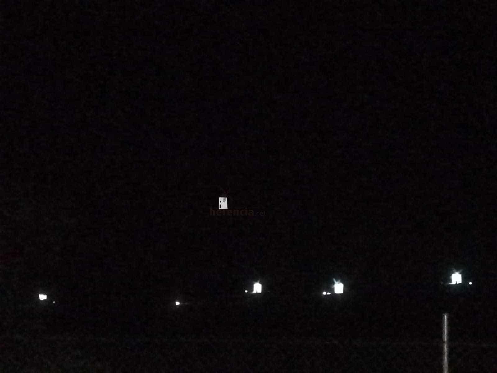 iluminacion molinos herencia 1 - Probando la nueva iluminación de los Molinos de Herencia