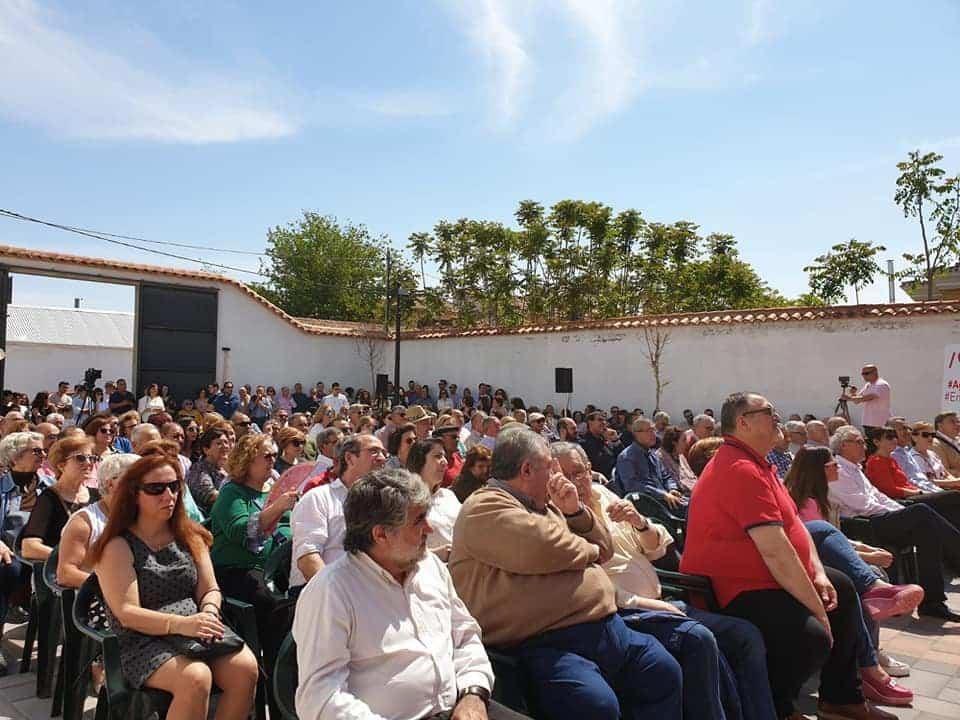 presentacion candidatura psoe herencia 2019 - El PSOE de Herencia adelanta algunas de las propuestas de su programa electoral