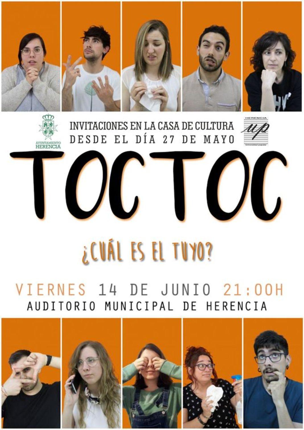 Toc Toc es la obra que el grupo de teatro de adultos de la Universidad Popular representará por su décimo cumpleaños 4