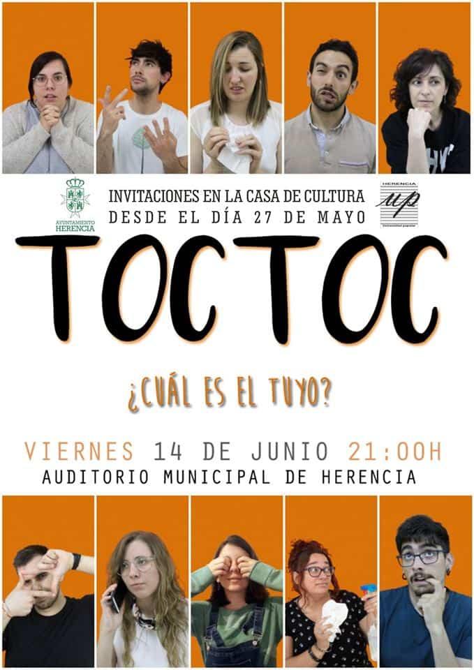 teatro adultos Universidad popular - Toc Toc es la obra que el grupo de teatro de adultos de la Universidad Popular representará por su décimo cumpleaños