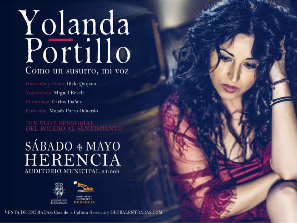 yolanda portillo 949x712 - Yolanda Portillo estrena en Herencia su nuevo trabajo, 'Como un susurro, mi voz'