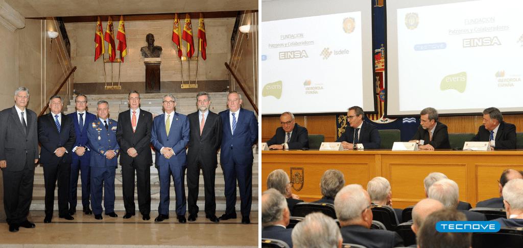Tecnove participa en la creación de la Academia de las Ciencias y las Artes Militares 3