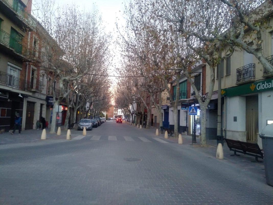 Avenida constitución El Roce Herencia 1068x801 - La renovada Travesía será un nuevo espacio peatonal durante los fines de semana