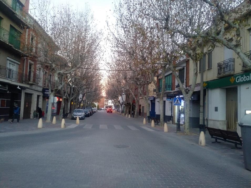 Avenida constitución El Roce Herencia - La renovada Travesía será un nuevo espacio peatonal durante los fines de semana