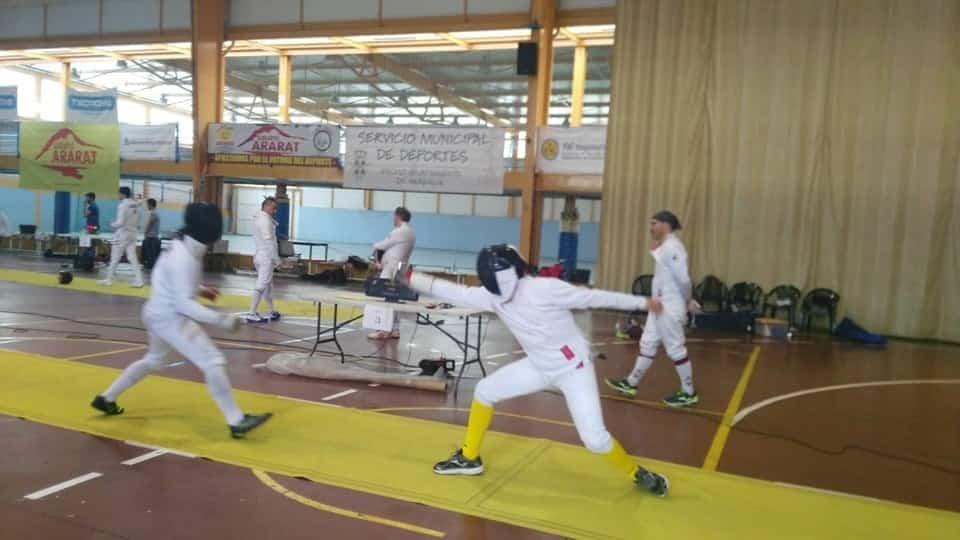 Herencia acoge el Campeonato Senior de Esgrima de Castilla La Mancha 16