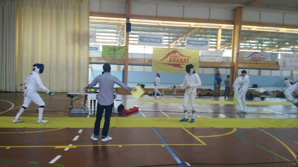 Herencia acoge el Campeonato Senior de Esgrima de Castilla La Mancha 18