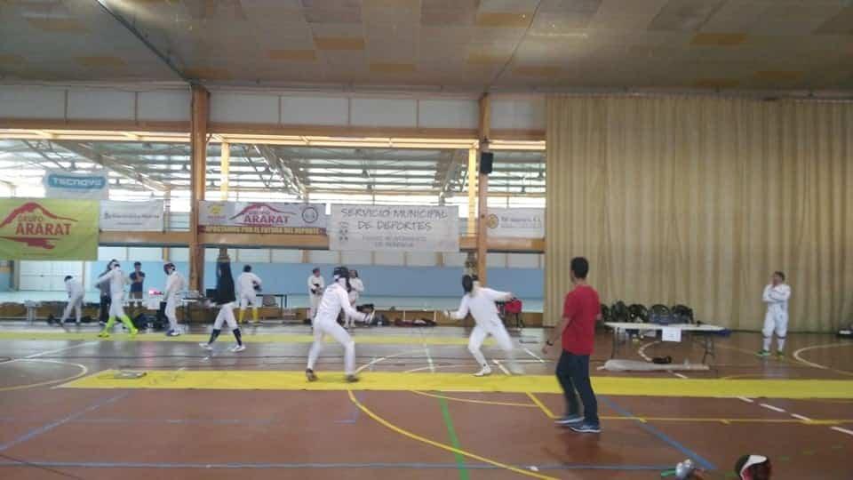 Herencia acoge el Campeonato Senior de Esgrima de Castilla La Mancha 19